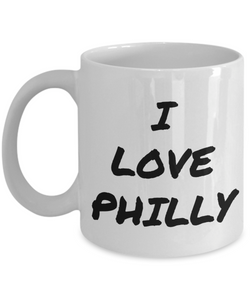 I Love Philly Mug Funny Gift Idea Novelty Gag Coffee Tea Cup-Coffee Mug