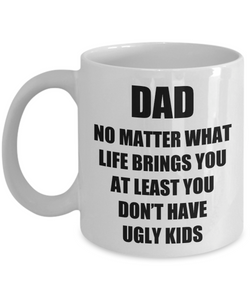 Dad Ugly Kids Mug From Daughter Son Funny Gift Idea for Novelty Gag Coffee Tea Cup-[style]