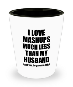 Mashups Wife Shot Glass Funny Valentine Gift Idea For My Spouse From Husband I Love Liquor Lover Alcohol 1.5 oz Shotglass-Shot Glass