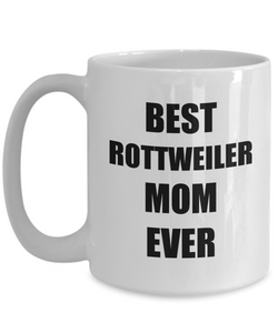 Rottweiler Mom Mug Rottie Funny Gift Idea for Novelty Gag Coffee Tea Cup-Coffee Mug