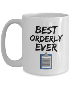 Orderly Mug - Best Orderly Ever - Funny Gift for Orderly-Coffee Mug