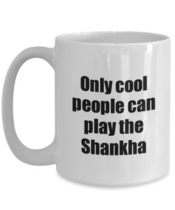 Shankha Player Mug Musician Funny Gift Idea Gag Coffee Tea Cup-Coffee Mug