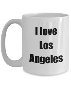 I Love Los Angeles Mug Funny Gift Idea Novelty Gag Coffee Tea Cup-Coffee Mug