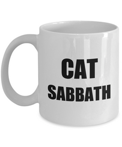 Cat Sabbath Mug Funny Gift Idea for Novelty Gag Coffee Tea Cup-Coffee Mug