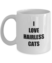 Load image into Gallery viewer, Hairless Cat Mug Funny Gift Idea for Novelty Gag Coffee Tea Cup-[style]