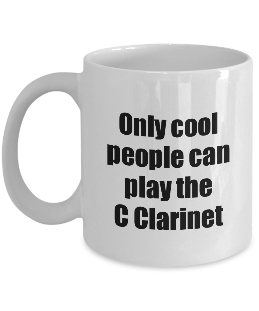 C Clarinet Player Mug Musician Funny Gift Idea Gag Coffee Tea Cup-Coffee Mug