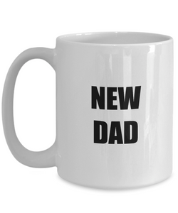 New Dad Mug Funny Gift Idea for Novelty Gag Coffee Tea Cup-Coffee Mug