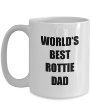 Load image into Gallery viewer, Rottie Dad Mug Rottweiler Lover Funny Gift Idea for Novelty Gag Coffee Tea Cup-[style]