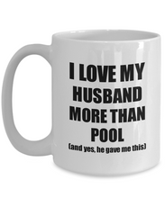 Load image into Gallery viewer, Pool Wife Mug Funny Valentine Gift Idea For My Spouse Lover From Husband Coffee Tea Cup-Coffee Mug