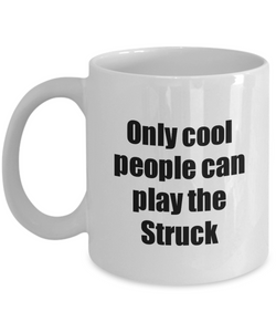 Struck Player Mug Musician Funny Gift Idea Gag Coffee Tea Cup-Coffee Mug