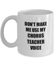 Load image into Gallery viewer, Chorus Teacher Mug Coworker Gift Idea Funny Gag For Job Coffee Tea Cup-Coffee Mug