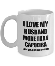 Load image into Gallery viewer, Capoeira Wife Mug Funny Valentine Gift Idea For My Spouse Lover From Husband Coffee Tea Cup-Coffee Mug