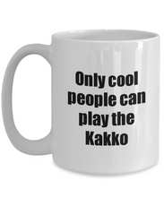 Load image into Gallery viewer, Kakko Player Mug Musician Funny Gift Idea Gag Coffee Tea Cup-Coffee Mug