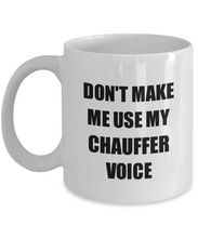 Load image into Gallery viewer, Chauffer Mug Coworker Gift Idea Funny Gag For Job Coffee Tea Cup-Coffee Mug