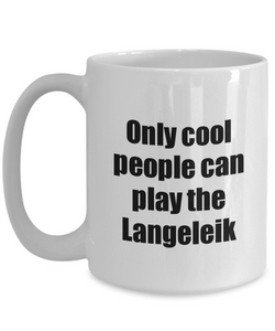 Langeleik Player Mug Musician Funny Gift Idea Gag Coffee Tea Cup-Coffee Mug