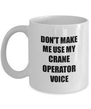 Load image into Gallery viewer, Crane Operator Mug Coworker Gift Idea Funny Gag For Job Coffee Tea Cup-Coffee Mug