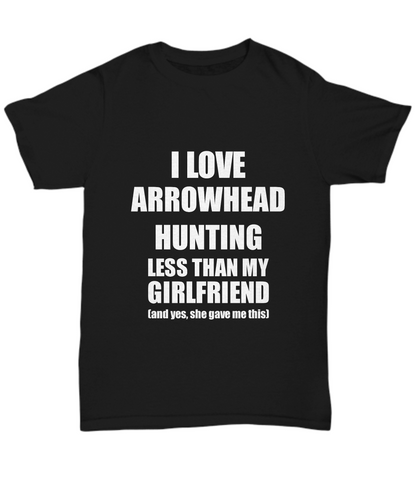 Arrowhead Hunting Boyfriend T-Shirt Valentine Gift Idea For My Bf Unisex Tee-Shirt / Hoodie