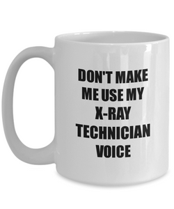 X-Ray Technician Mug Coworker Gift Idea Funny Gag For Job Coffee Tea Cup-Coffee Mug