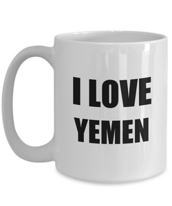 I Love Yemen Mug Funny Gift Idea Novelty Gag Coffee Tea Cup-Coffee Mug