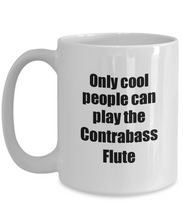 Load image into Gallery viewer, Contrabass Flute Player Mug Musician Funny Gift Idea Gag Coffee Tea Cup-Coffee Mug
