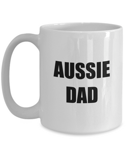 Aussie Dad Mug Funny Gift Idea for Novelty Gag Coffee Tea Cup-Coffee Mug