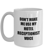 Load image into Gallery viewer, Hotel Receptionist Mug Coworker Gift Idea Funny Gag For Job Coffee Tea Cup-Coffee Mug