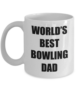 Bowling Dad Mug Best Funny Gift Idea for Novelty Gag Coffee Tea Cup-Coffee Mug