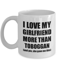 Load image into Gallery viewer, Toboggan Boyfriend Mug Funny Valentine Gift Idea For My Bf Lover From Girlfriend Coffee Tea Cup-Coffee Mug