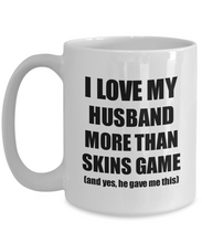 Load image into Gallery viewer, Skins Game Wife Mug Funny Valentine Gift Idea For My Spouse Lover From Husband Coffee Tea Cup-Coffee Mug