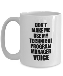 Technical Program Manager Mug Coworker Gift Idea Funny Gag For Job Coffee Tea Cup Voice-Coffee Mug