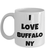 Load image into Gallery viewer, I Love Buffalo Ny Mug Funny Gift Idea Novelty Gag Coffee Tea Cup-Coffee Mug