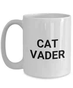Cat Vader Mug Funny Gift Idea for Novelty Gag Coffee Tea Cup-[style]