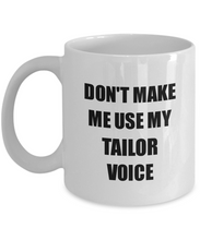 Load image into Gallery viewer, Tailor Mug Coworker Gift Idea Funny Gag For Job Coffee Tea Cup-Coffee Mug