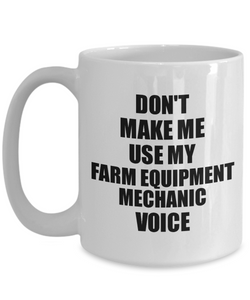 Farm Equipment Mechanic Mug Coworker Gift Idea Funny Gag For Job Coffee Tea Cup Voice-Coffee Mug