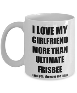 Ultimate Frisbee Boyfriend Mug Funny Valentine Gift Idea For My Bf Lover From Girlfriend Coffee Tea Cup-Coffee Mug