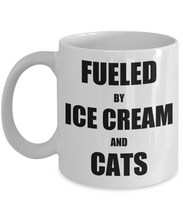 Load image into Gallery viewer, Cat Ice Cream Mug Funny Gift Idea for Novelty Gag Coffee Tea Cup-Coffee Mug