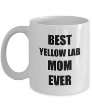 Load image into Gallery viewer, Yellow Lab Mom Mug Labrador Funny Gift Idea for Novelty Gag Coffee Tea Cup-[style]