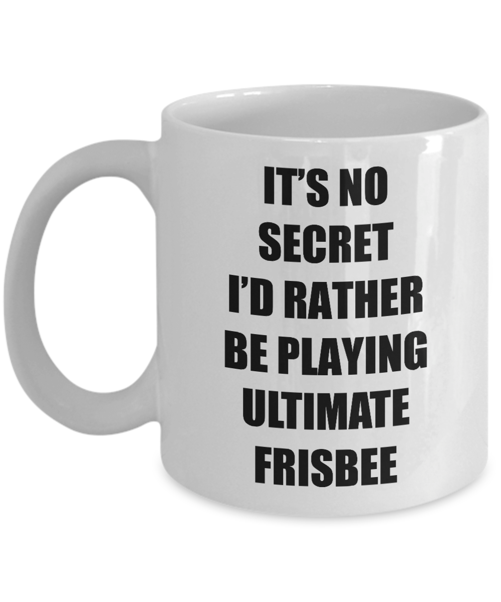 Ultimate Frisbee Mug Sport Fan Lover Funny Gift Idea Novelty Gag Coffee Tea Cup-Coffee Mug