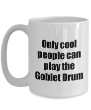 Load image into Gallery viewer, Goblet Drum Player Mug Musician Funny Gift Idea Gag Coffee Tea Cup-Coffee Mug
