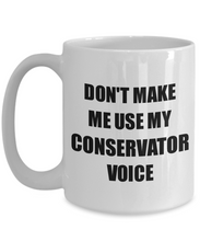 Load image into Gallery viewer, Conservator Mug Coworker Gift Idea Funny Gag For Job Coffee Tea Cup-Coffee Mug