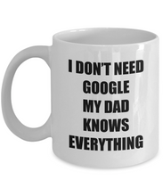 Load image into Gallery viewer, Dad Google Mug Funny Gift Idea for Novelty Gag Coffee Tea Cup-Coffee Mug