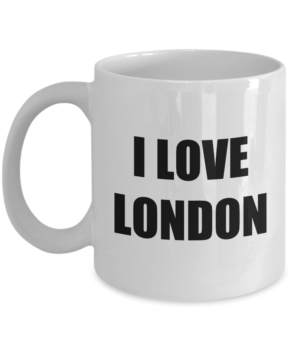 I Love London Mug Funny Gift Idea Novelty Gag Coffee Tea Cup-Coffee Mug