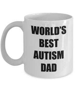 Autism Dad Mug Best Funny Gift Idea for Novelty Gag Coffee Tea Cup-Coffee Mug