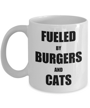 Load image into Gallery viewer, Cat Hamburger Mug Burger Funny Gift Idea for Novelty Gag Coffee Tea Cup-Coffee Mug