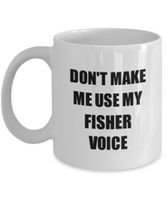 Load image into Gallery viewer, Fisher Mug Coworker Gift Idea Funny Gag For Job Coffee Tea Cup-Coffee Mug