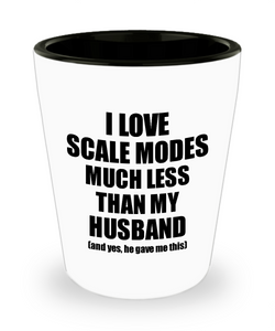 Scale Modes Wife Shot Glass Funny Valentine Gift Idea For My Spouse From Husband I Love Liquor Lover Alcohol 1.5 oz Shotglass-Shot Glass