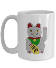 Load image into Gallery viewer, Neko Lucky Cat Mug Funny Gift Idea for Novelty Gag Coffee Tea Cup-[style]