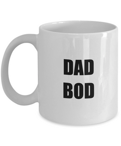 Dad Bod Mug Funny Gift Idea for Novelty Gag Coffee Tea Cup-[style]