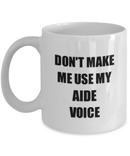 Load image into Gallery viewer, Aide Mug Coworker Gift Idea Funny Gag For Job Coffee Tea Cup-Coffee Mug
