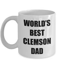 Load image into Gallery viewer, Clemson Dad Mug Dog Lover Funny Gift Idea for Novelty Gag Coffee Tea Cup-[style]